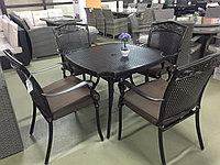 Кованный комплект Стол 4 кресла, фото 1
