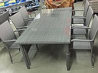 Обеденная группа стол + 6 стульев