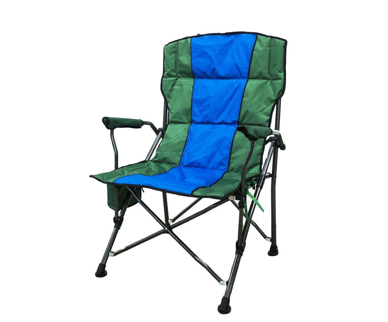 Стул складной, 70 * 100 см, зелено-голубой