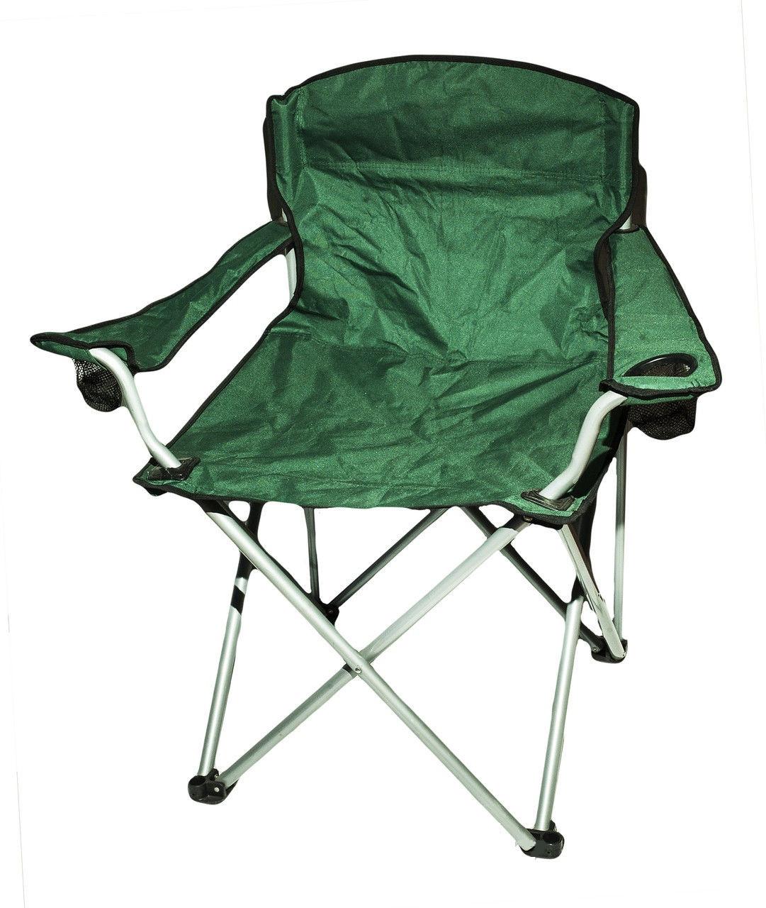 Кресло складное туристическое (зелёное)