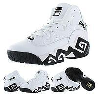 Кроссовки Fila MB Jamal Mashburn Retro white/black размеры 40-46, фото 1