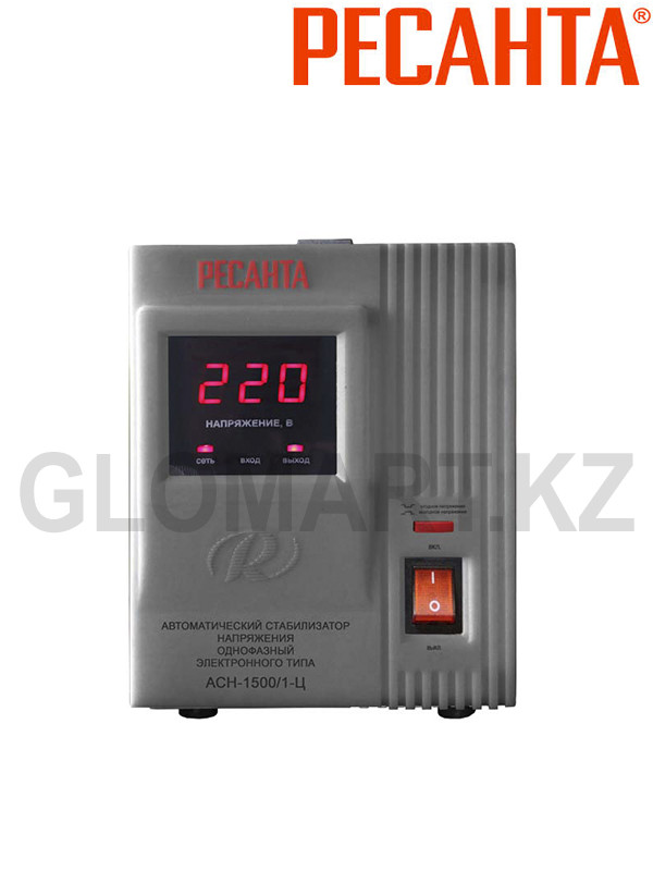 Стабилизатор электронного типа Ресанта АСН-1500/1-Ц
