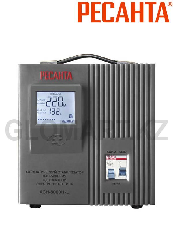 Электронный стабилизатор Ресанта АСН-8000/1-Ц
