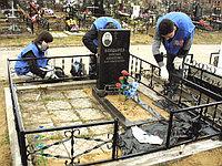 Годовой уход за могилой