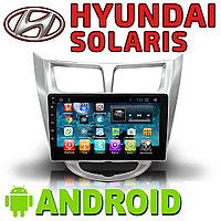 Автомагнитола Hyundai Solaris Accent Android., фото 1