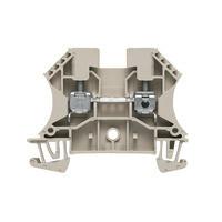 WDU 4 Проходная клемма, Винтовое соединение, 4 mm², 800 V, 32 A, Темно-бежевый Weidmuller