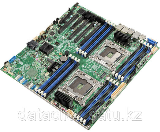 Сервеная плата Intel® Server Board S2600CW2R, 2 x LGA2011-3, Xeon E5-2600 v3/v4, 16 x DDR4 ECC RDIMM/LRDIMM Up, фото 2