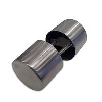 Дверная ручка-кноб металлическая