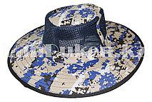 Шляпа с москитной сеткой для рыбалки, охоты синяя