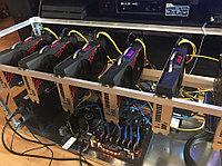 Майнинг ферма на базе Asus P106-100, MSI GeForce 1060 Gaming X 6G, фото 1