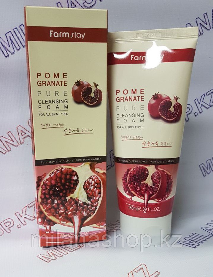 Farm Stay  Pomegranate Cleasing Foam (Пенка для умывания с экстрактом граната)