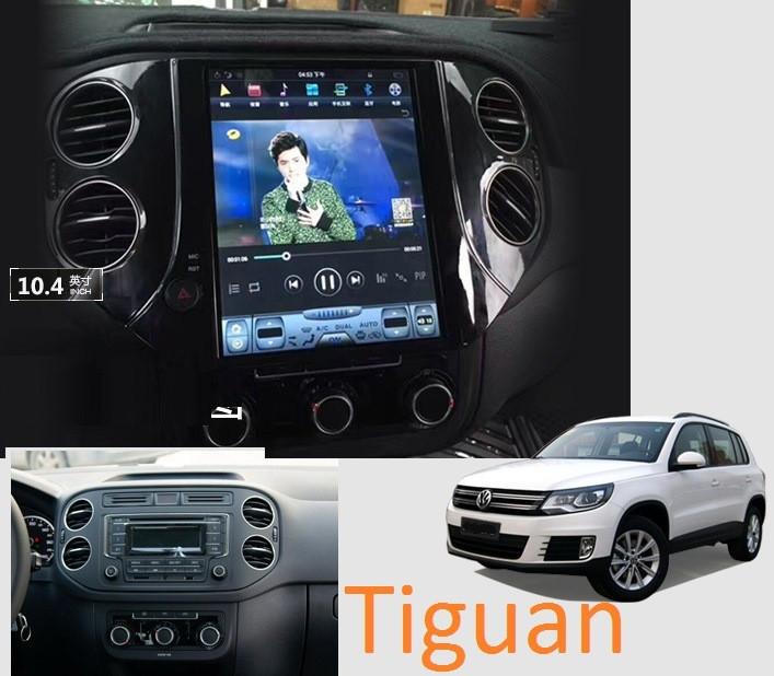 Магнитола Tesla для Volkswagen Tiguan