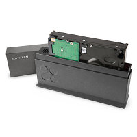 "Soyntec HDD Box 350 Solid Graphite (HDD enclosure Dual System 2.5"" / 3.5"" SATA-USB 3.0)"