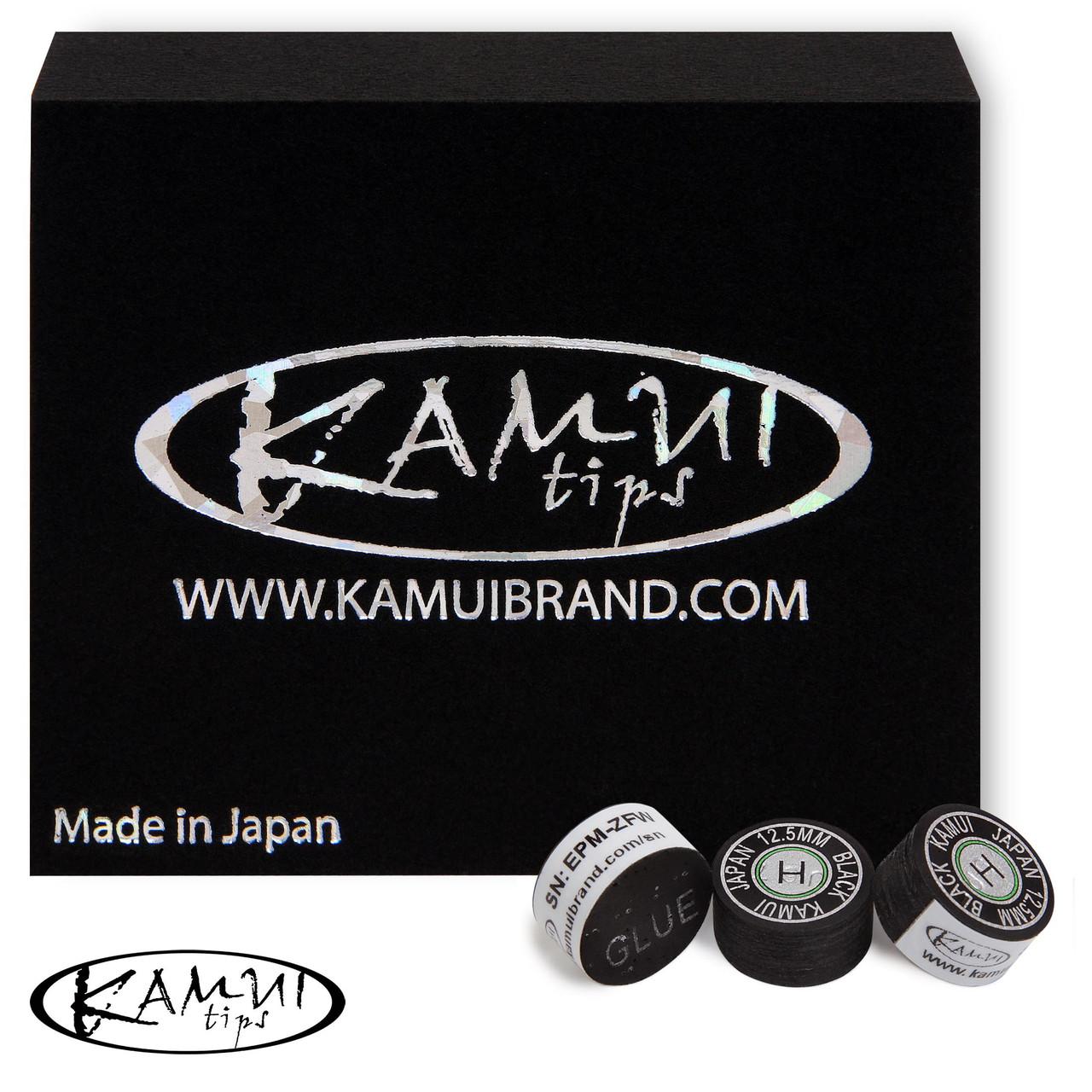 Наклейка для кия Kamui Black Ø12.5 мм Hard