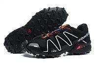 Кроссовки трейловые Donna Salomon Speedcross 3 черные, фото 1
