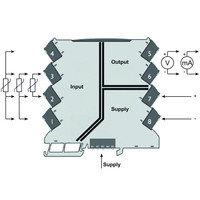 Термопреобразователь, Термометр сопротивления 2-/3-/4-проводной, Вход : Температура, Выход : I / U ACT20M-RTI-, фото 2