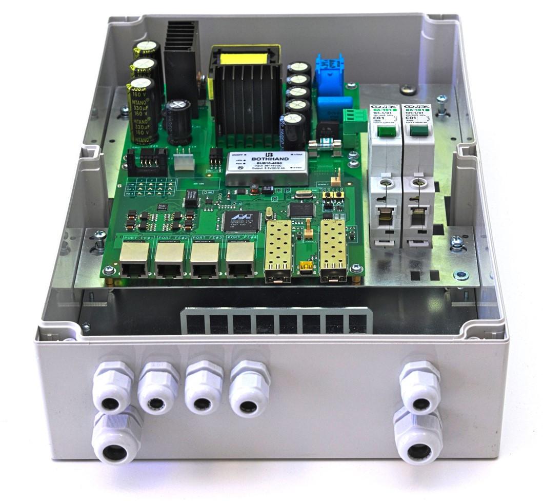 Коммутатор TFortis PSW-2G+  управляемый