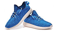 Nike Yeezy boost 350 blue, фото 1