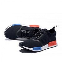 Adidas Yeezy red and blue, фото 1