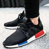 Adidas Yeezy red and blue, фото 3
