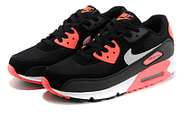Nike Air Max 90 Woven Black Red, фото 1
