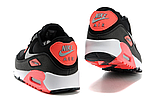 Nike Air Max 90 Woven Black Red, фото 2