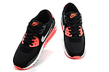 Nike Air Max 90 Woven Black Red, фото 3