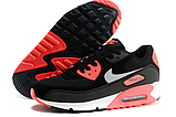 Nike Air Max 90 Woven Black Red, фото 4
