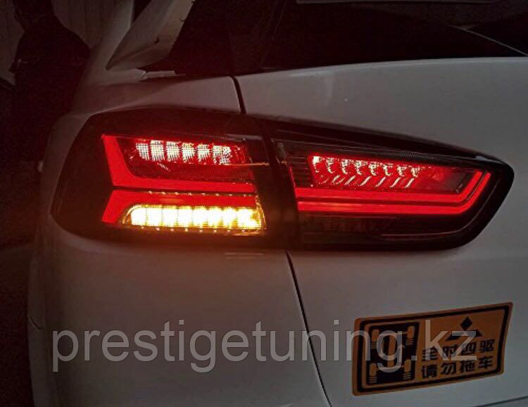 Задние фары Lancer Exceed LED Tail Lamp for Mitsubishi Red Color 2008 -2013
