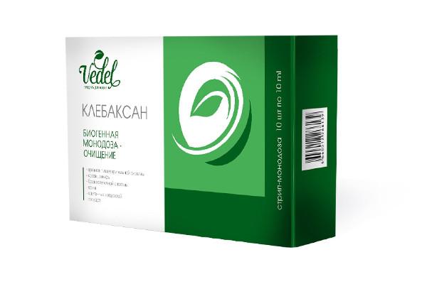 Клебаксан - монодозы для очищения организма