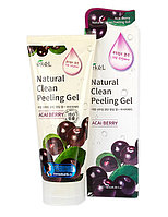 Ekel Acai Berry Natural Clean Peeling Gel - Пилинг-гель с экстрактом ягод асаи