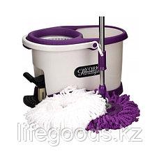 Набор для уборки: ведро с отжимом + швабра, York Prestige 072700, фото 2