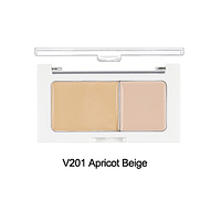 THE FACE SHOP Консилер V201 светло-бежевый CONCEALER DOUBLE COVER V201