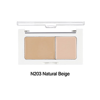 THE FACE SHOP Консилер N203 натурально-бежевый CONCEALER DOUBLE COVER N203