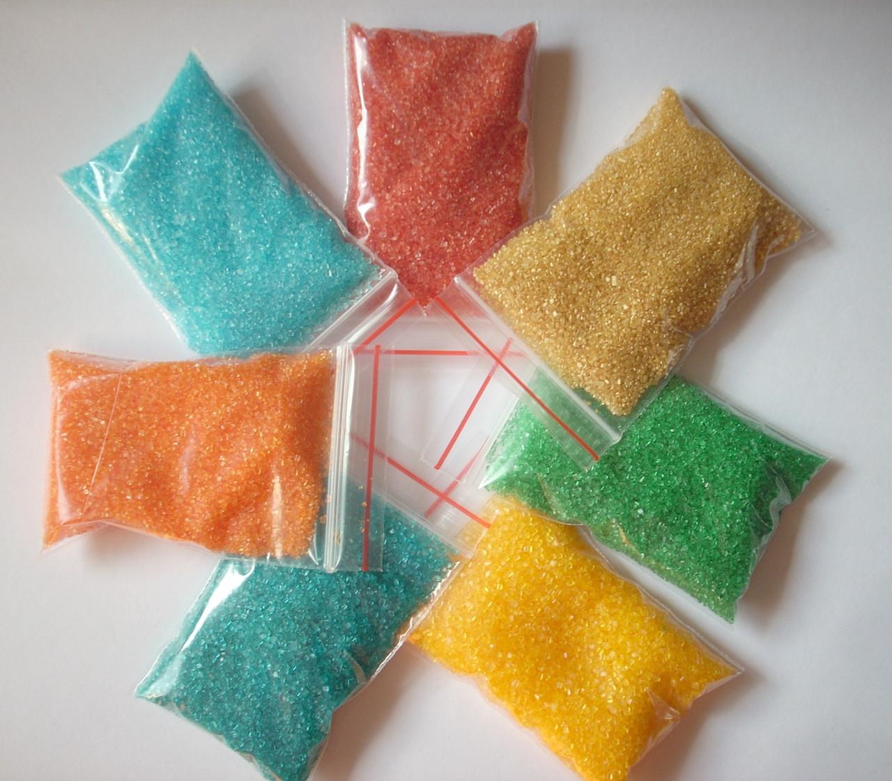 Сахар кристаллический цветной