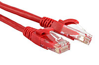 Hyperline PC-LPM-UTP-RJ45-RJ45-C5e-5M-LSZH-RD Патч-корд U/UTP, Cat.5е, LSZH, 5 м, красный