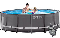 Бассейн каркасный Intex Ultra Frame Pool - 28324.54924 488х122см