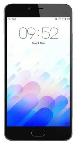 Смартфон MEIZU M3 Note Серебро L681H/16GB/Silver MTK Helio P10 ARM® Cortex®-A53™1.8GHz x4 + ARM , фото 2