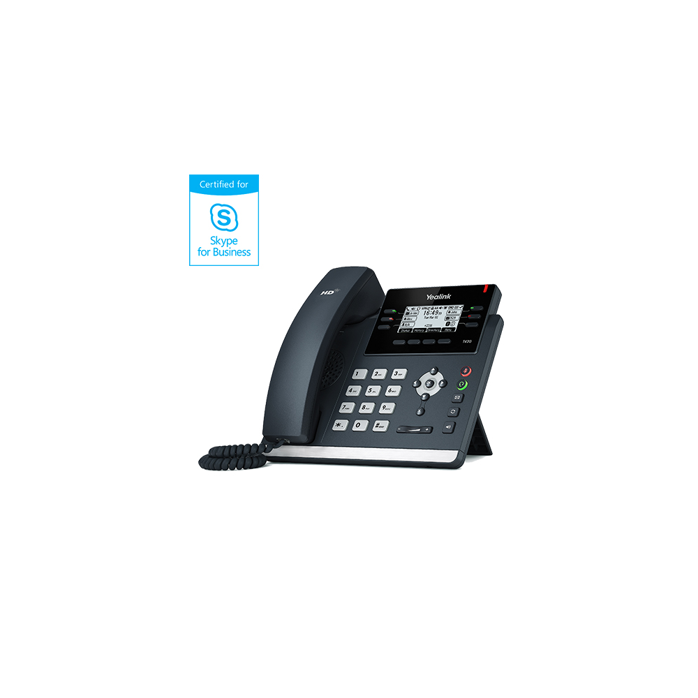 IP телефон Yealink SIP-T42S Skype for Business Edition