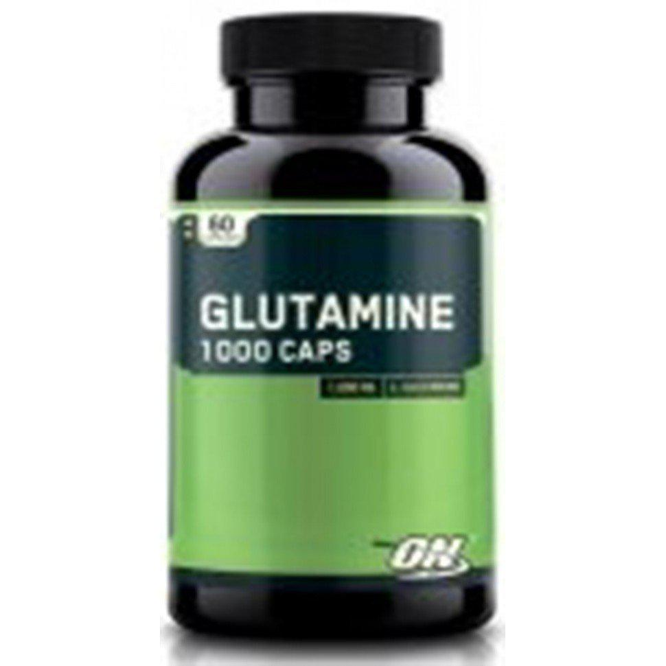 "Optimum Nutrition Glutamine 1000 mg, 60 caps - ТОО ""103apteka.kz"" в Алматы"