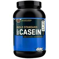 Optimum Nutrition 100% Casein Protein, 2 lbs. клубника эмул