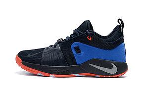 Баскетбольные кроссовки Nike PG2 from Paul George black\blue, фото 3