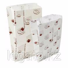 """Бумажный пакет """"Приятного аппетита"""" 310*170*70 с печатью"""