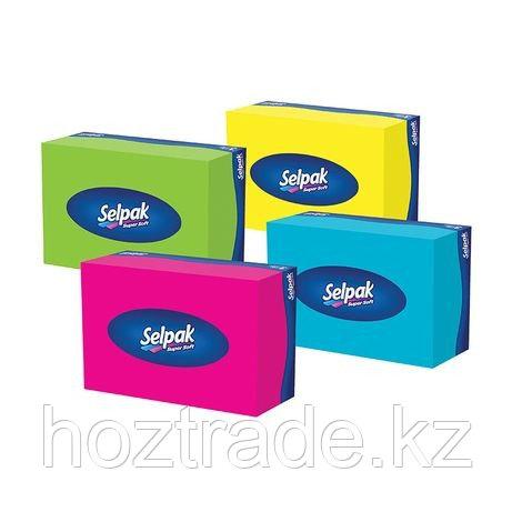 Салфетки вытяжные Селпак в коробке