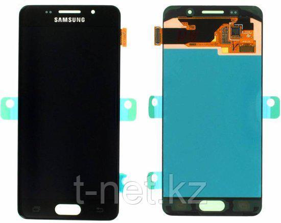Дисплей Samsung Galaxy A3 Duos (2016) SM-A310F, с сенсором, цвет черный