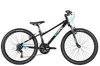 "HARO Flightline 24"" SG Black/Cyan Blue"