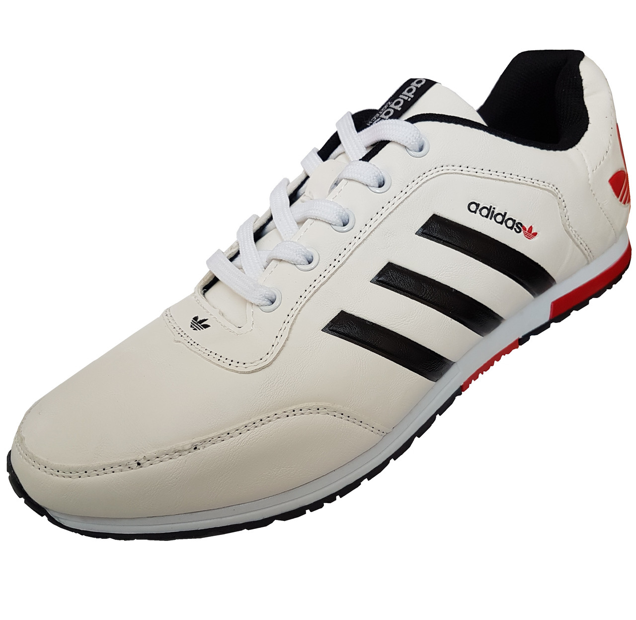 Кроссовки Adidas Zigtech White Red Black