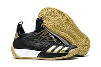 Кроссовки баскетбольные Adidas Harden Vol.2 Black Gold, фото 1