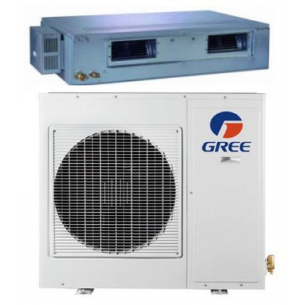Канальный кондиционер GREE-18 R410A: GFH18K3HI/GUHN18NK3HO (без инсталляции), фото 2