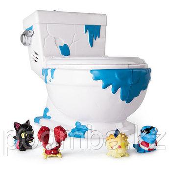 Flush Force - Туалет-коллектор с 4 фигурками-сюрпризами (звук)